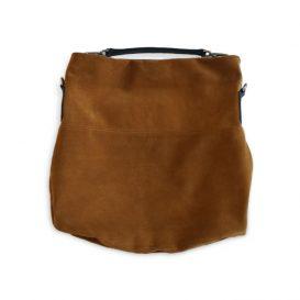 AmicaMako イタリア製バッグ ショルダーバッグ スウェードバッグ シルヴァーノ・ジュリアーニ