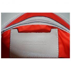 アミーカマコ AmicaMako イタリア製バッグ トートバッグ ベージュグレーバッグ シルヴァーノ・ジュリアーニ