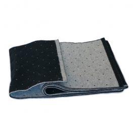 Black and Gray Dots Muffler