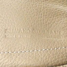 【Silvano Giuliani】スカイブルー 本革ビジネスバッグ(小)