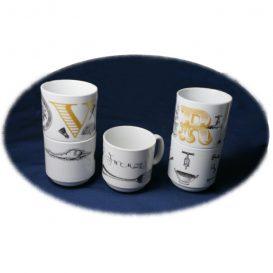 【And Company】 アルファベット・マグカップ5個セット