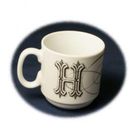 【And Company】 アルファベット・マグカップ2個セット