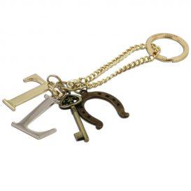 編み込み風プリントレザーのトートバッグTL KeyLuck