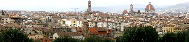 フィレンツェのパノラマ2