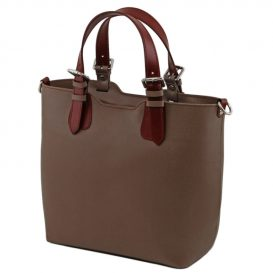 2Wayバケツ型バッグ カーフレザー・サフィアーノ加工TL Bag