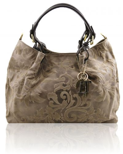 borsa-shopping-in-pelle-scamosciata-stampa-floreale-talpa-scuro-1361r400500