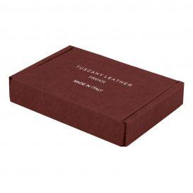 イタリア製本革財布の化粧箱、ギフトボックス
