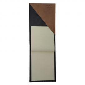 ベジタブルタンニン革のA5サイズノートパッド