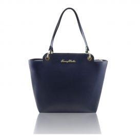 カーフ革サフィアーノ加工のトートバッグTL Bag