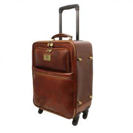 ベジタブルタンニンレザー4車輪スーツケース TL VOYAGER