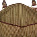 イタリア製本牛革ベジタブルタンニンレザーの旅行ボストンバッグ・表ポケットあり - Lサイズ TL VOYAGER・詳細2