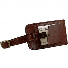 イタリア製本牛革ベジタブルタンニンレザーの旅行ボストンバッグ・表ポケットあり - Lサイズ TL VOYAGER・詳細