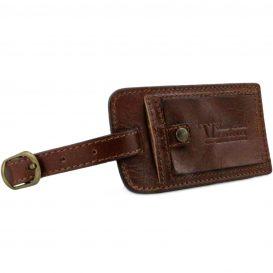 イタリア製ベジタブルタンニンレザーのサイドポケット付ボストンバッグTL VOYAGER(Mサイズ)、詳細9