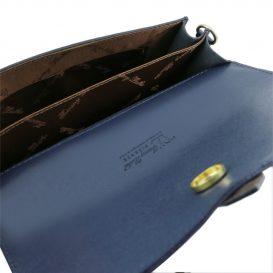 カーフレザー・サフィアーノ加工のポシェット&クラッチ TL Bag