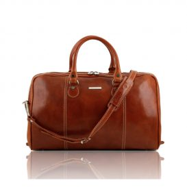 PARIGI ベジタブルタンニンレザーの旅行バッグ45