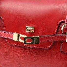 イタリア製フルグレインレザーのハンドバッグ TL NEOCLASSIC、詳細