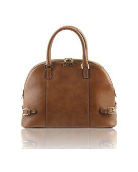 ベジタブルタンニンレザーのハンドバッグ TL Bag1235_2016aw