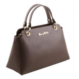 カーフ革サフィアーノ加工のハンドバッグTL Bag