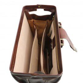 イタリア製ベジタブルタンニンレザーのダレスバッグ CANOVA、詳細5