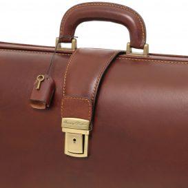 イタリア製ベジタブルタンニンレザーのダレスバッグ CANOVA、詳細8