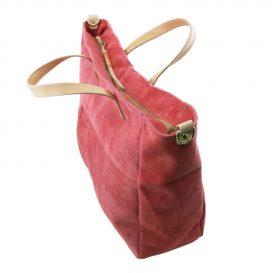 本革スウェードの2WAYトートバッグ TL Bag