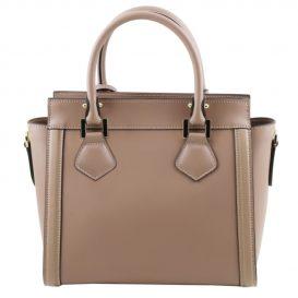 LARA ルーガ・カーフレザーの2WAYハンドバッグ小サイズ