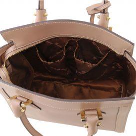 LARA ルーガ・カーフレザーの2WAYハンドバッグ大サイズ