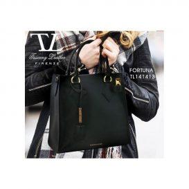 イタリア製本革バッグ、レディースバッグ、ブラック