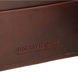 イタリア製本牛革カーフレザーのメンズ財布