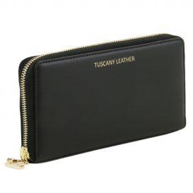 イタリア製本革カーフ・ルーガレザーのレディース長財布 (2室タイプ)