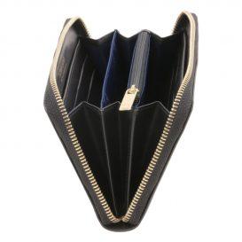 本革カーフ・ルーガレザーのレディース長財布 (3室タイプ)