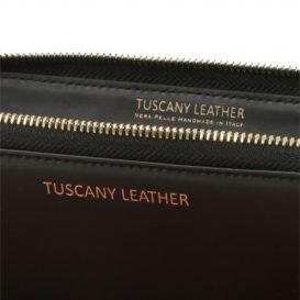 イタリア製本革カーフ・ルーガレザーのレディース長財布 (3室タイプ)