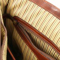 イタリア製ベジタブルタンニンレザーのビジネスバッグ ALESSANDRIA、詳細11