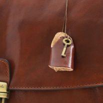 イタリア製ベジタブルタンニンレザーのビジネスバッグ ALESSANDRIA、詳細16