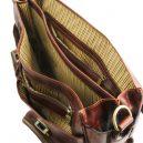VENTIMIGLIA イタリア製ベジタブルタンニンレザーの取り外しポケットTL SMARTつきバッグ・詳細