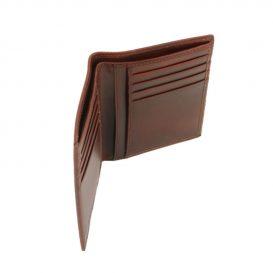 本牛革カーフレザーのメンズ財布(紙幣入れ2か所)