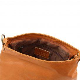 イタリア製タッセルつきソフトレザーのショルダーバッグ(小) TL Bag
