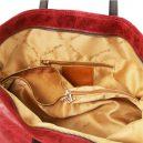 イタリア製ヴィンテージ加工カーフレザーの2WAYトートバッグ TL Bag