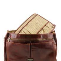 イタリア製コットンとレザーのバッグ仕切りモジュール(ポケットつき)TL SMART MODULE、詳細6