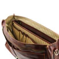 イタリア製コットンとレザーのバッグ仕切りモジュール(ポケットつき)TL SMART MODULE、詳細7