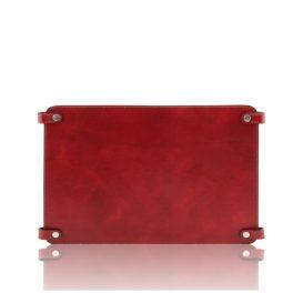 イタリア製ベジタブルタンニンレザーのバッグ仕切りモジュールTL SMART MODULE、レッド、赤