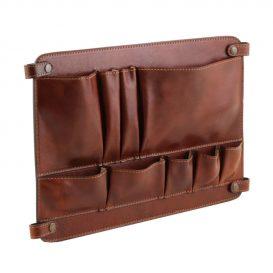 イタリア製ベジタブルタンニンレザーのバッグ仕切りモジュール(ポケットつき)TL SMART MODULE