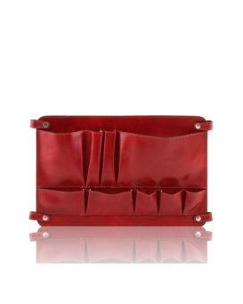 ベジタブルタンニンレザーのバッグ仕切りモジュール(ポケットつき)TL SMART MODULE1520