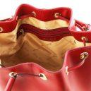 イタリア製VITTORIA ルーガ・カーフレザーの2WAY巾着バッグ・詳細