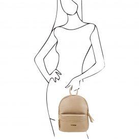 イタリア製・柔らかいカーフレザーのリュック TL BAG・詳細