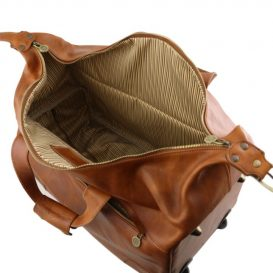 イタリア製BARBADOS ベジタブルタンニンレザー2車輪キャリーバッグ