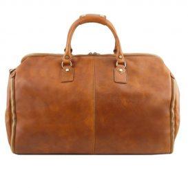 イタリア製ベジタブルタンニンレザーの旅行/衣装バッグ ANTIGUA、詳細2