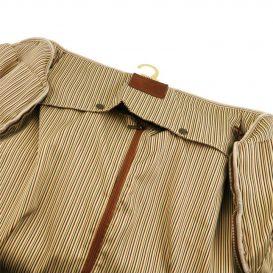 イタリア製ベジタブルタンニンレザーの旅行/衣装バッグ ANTIGUA、詳細7