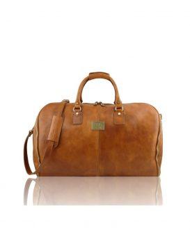 ANTIGUA ベジタブルタンニンレザーの旅行/衣装バッグ1538