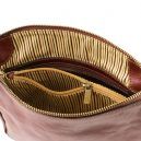 MICHELA イタリア製ベジタブルタンニンレザーのショルダーバッグ